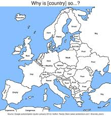 Labeled Map Of Europe political humor international liberty page 11