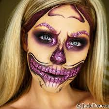 Glitter Halloween Costumes Jadedeacon Instagram U201cpink Glitter Skull Products U2022face