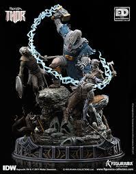 collector s ragnarök thor elite diorama figurama collectors