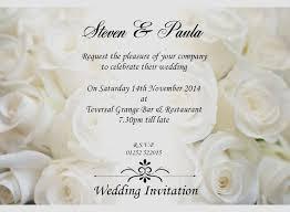 e wedding invitations electronic wedding invitations fresh sle wedding invitation