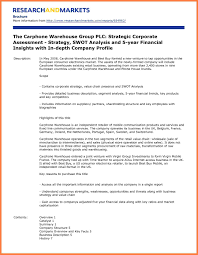Business Letterhead Format Example by 5 Sample Of A Company Profile Pdf Company Letterhead