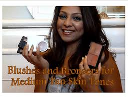 blushes and bronzers for medium tan brown olive skin tones youtube