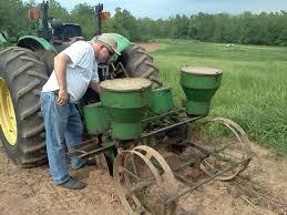 2 Row Corn Planter by Silo Hill Farm An Invisible Corn Maze