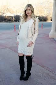 jessica simpson short sleeve lace maternity dress