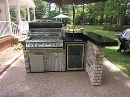 prefabricated outdoor kitchen islands kitchen bbq island ideas stainless steel doors bbq modular