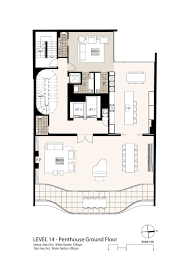 floor plans sydney gallery of eliza apartments tony owen partners 12