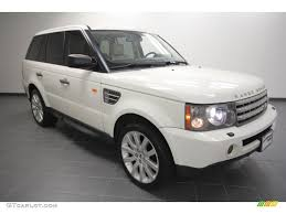 land rover sport 2007 2007 chawton white land rover range rover sport supercharged