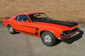 1969 mustang orange 1969 ford mustang 302 amelia island select march 2015