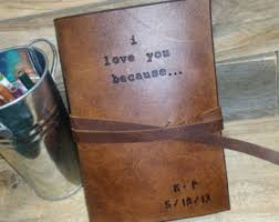 wedding gift journal i you because journal third anniversary leather 3rd