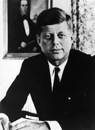 president john f kennedy gives man on the moon speech