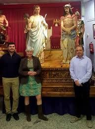 imagenes de jesus ante pilato visita inesperada de la familia de d josé rabasa pérez autor del
