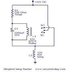 flashing circuit diagram circuit and schematics diagram