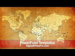 old world map powerpoint template gavea info