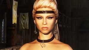 skyrim earrings ashara dimonized dress and jewelry unp cbbe at skyrim