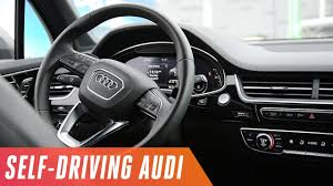 self driving car the audi and nvidia self driving car youtube