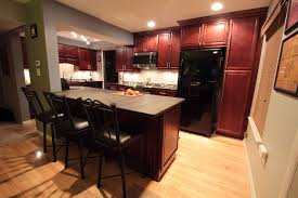 Kitchen Furniture Columbus Ohio by K Cherry With Glaze Kitchen