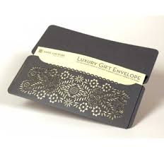 custom gift card holders custom design laser cut gift envelopes and gift card holders