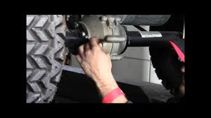 how to check the rear axle fluid in your golf cart youtube