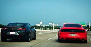 camaro vs mustang 2016 ford mustang gt vs 2016 chevrolet camaro ss 2