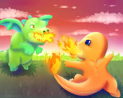 clash of clans dragon wallpaper baby dragon vs charmander by wolflover1086 on deviantart
