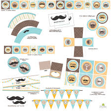 baby shower mustache mustache bash baby shower real party frog prince paperie