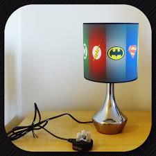 Bedroom Lighting Ideas Uk New Super Hero Batman Superman Symbol Bedside Lamp Boys