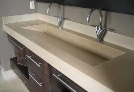 bathroom trough sink bathrooms