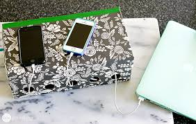 remodelaholic get rid of cord clutter with these 25 diy charging