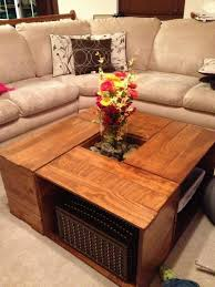 diy coffee table crates les proomis