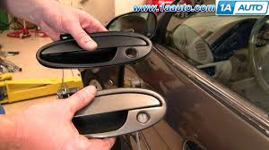 Exterior Car Door Handle Repair How To Install Repair Replace Broken Exterior Door Handle Olds