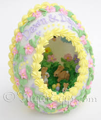 easter sugar eggs large panoramic sugar eggs for easter by sugareggscetera on etsy