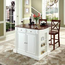 Kitchen Islands And Stools Shop Crosley Furniture White Craftsman Kitchen Island With 2