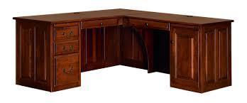 b u0026s woodcraft 7270 70 u2033 corner computer desk