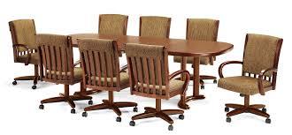 chromcraft dining room furniture chromcraft c177 936 u0026 t224 85 7pc swivel laminate dining set
