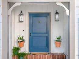 can you use an existing door for a barn door how to paint a front door hgtv