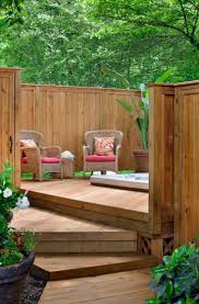 Privacy Screen Ideas For Backyard Backyard Privacy Wall Ideas Home Outdoor Decoration