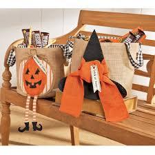 halloween delivery gifts mud pie h7 halloween decor burlap trick or treat treat bucket