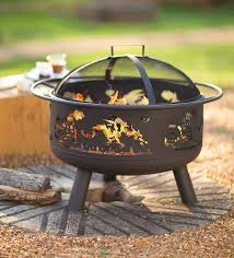 Steel Fire Pit - wind u0026 weather dragon themed steel fire pit u0026 reviews wayfair