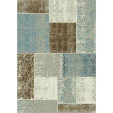 blue and brown rug blue natural blue and brown rugs amazon