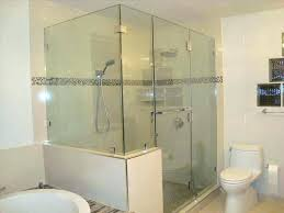Glass Shower Doors Cost Seamless Shower Shower Enclosure Frameless Shower Door Fin