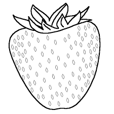 download kids free strawberry fruit coloring pages or print