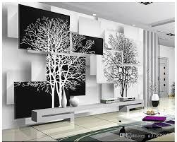 livingroom wallpaper high quality custom 3d wallpaper murals wall paper simple black and