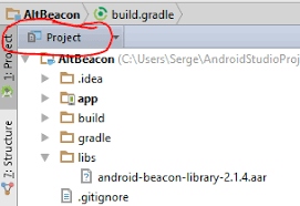 tutorial android beacon library how to import the altbeacon library inside my android studio 1 0