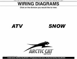 2000 2009 arctic cat atv u0026 snowmobile wiring diagrams download