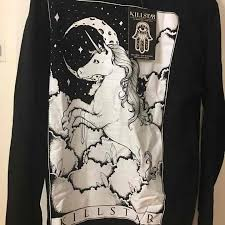 killstar halloween sweatshirt l mercari buy u0026 sell