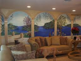 Ballard Design Outlet Roswell 28 Wall Murals Living Room Tropical Wall Mural For Living
