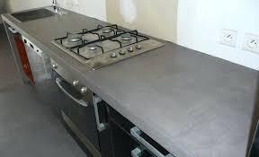 beton ciré cuisine plan travail plan de travail en beton peinture a effet beton cire ebw