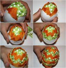 craft ribbon 10 diy easter craft ideas using styrofoam eggs for adults