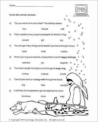 know your nouns ii u2013 printable vocabulary review worksheet