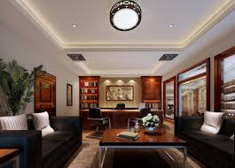modern cabin interior inspiring office ceiling decorating ideas design trends of modern